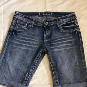 Rue 21 Bermuda jean shorts